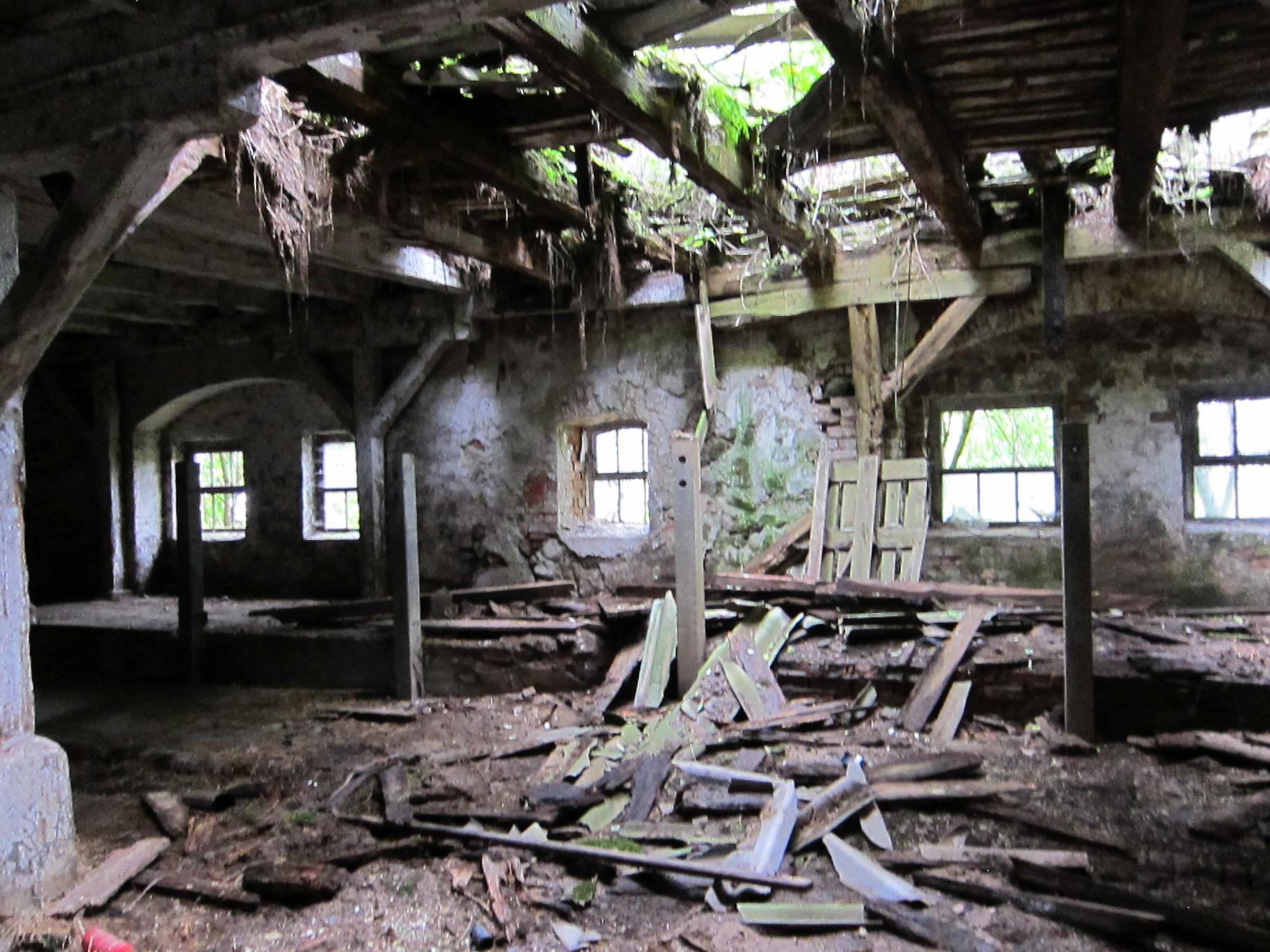 Der alte Stall in Laeven.