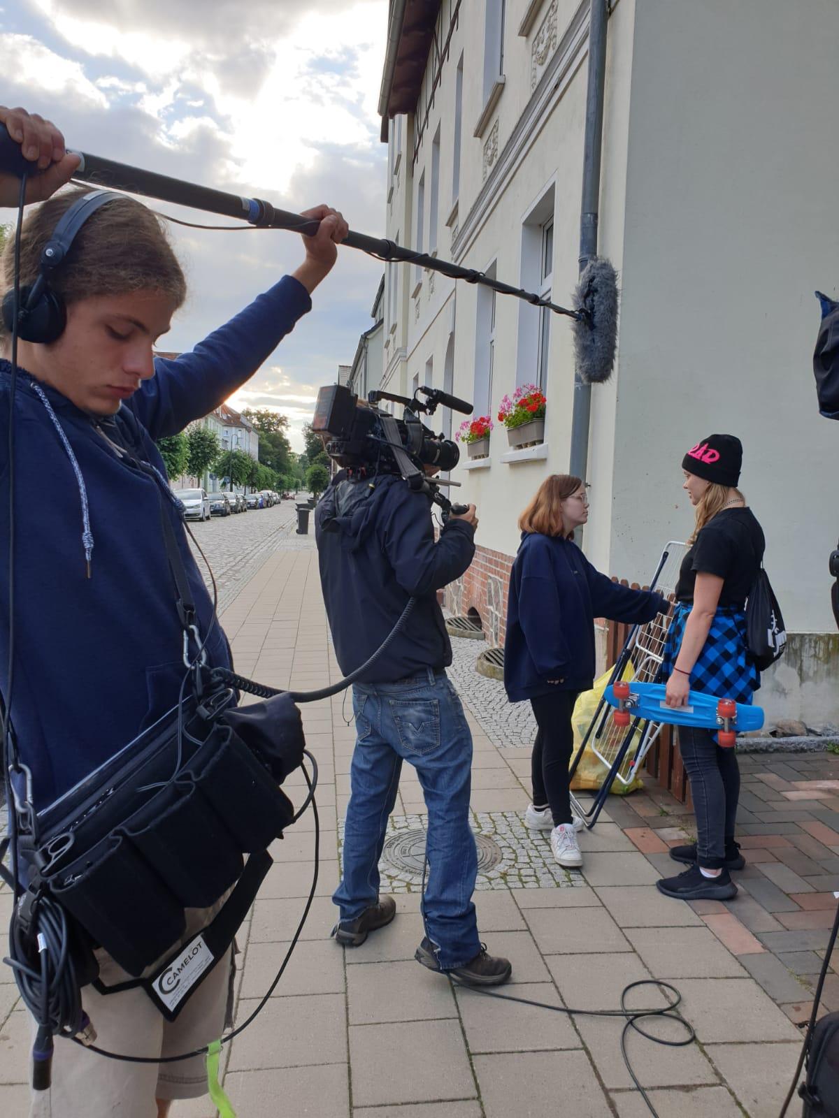 Durchdrehen Jugendaustausch und Filmcamp 2020